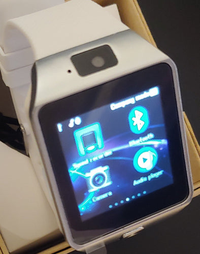 D Series Ice White Smart Watch