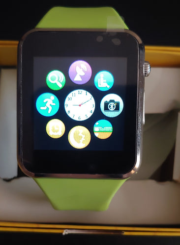 A Series Green Smart Watch