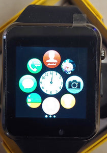 A Series Cool Black Smart Watch