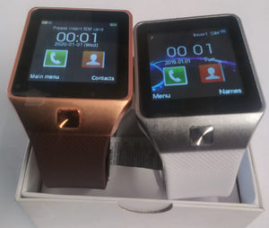 D Series Ivory & Rose Gold Smart Watches