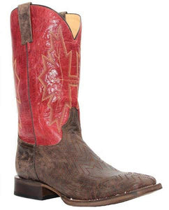 Red Canadiana Men's Boot by Roper