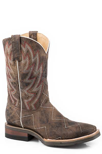 Geo-Stitched Men's Boot by Roper