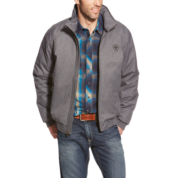 Charcoal Team Men's Jacket by Ariat
