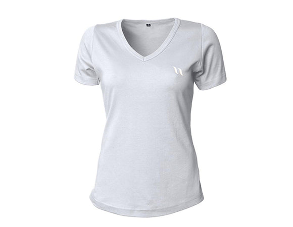 Back On Track V-Neck Women's T-Shirt