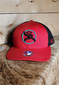 "Hooey ""Roughy"" Red Cap"