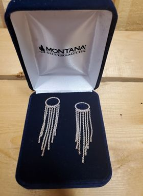 Halo Fringe Earrings by Montana Silversmiths