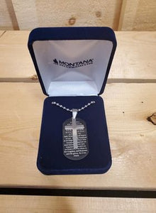 Our Father's Prayer Necklace by Montana Silversmiths