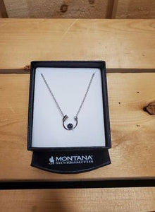 Northern Lights Lucky Arrow Necklace by Montana Silversmiths