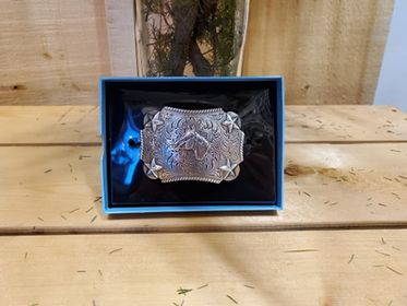 Horse & Stars Buckle by Nocona