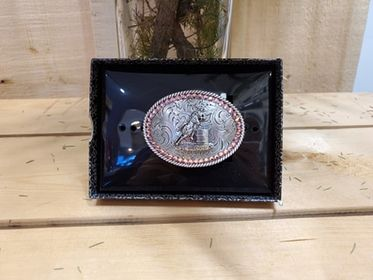 Small Barrel Racer Buckle by Blazin Roxx