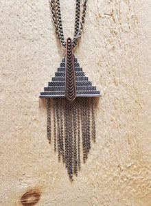 """Aztec Chains"" Necklace by Rock 47"