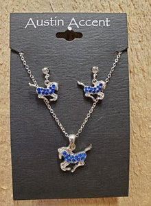 Running Horse Jewelry Set by Austin Accents