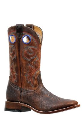 Golden Brown Top Grain Men's Boot by Boulet