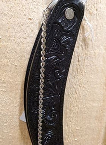 Tooled Leather Boot Dressings by Austin Accents