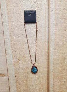 Copper Teardrop Necklace by Austin Accents