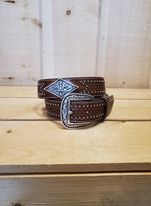 Diamond Concho Men's Belt by Ariat