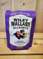 Wiley Wallaby Allsorts Licorice Candies