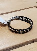 4-Strand Braided Horsehair Bracelet by Austin Accents