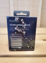 Silver String Mini Lights by Koppers