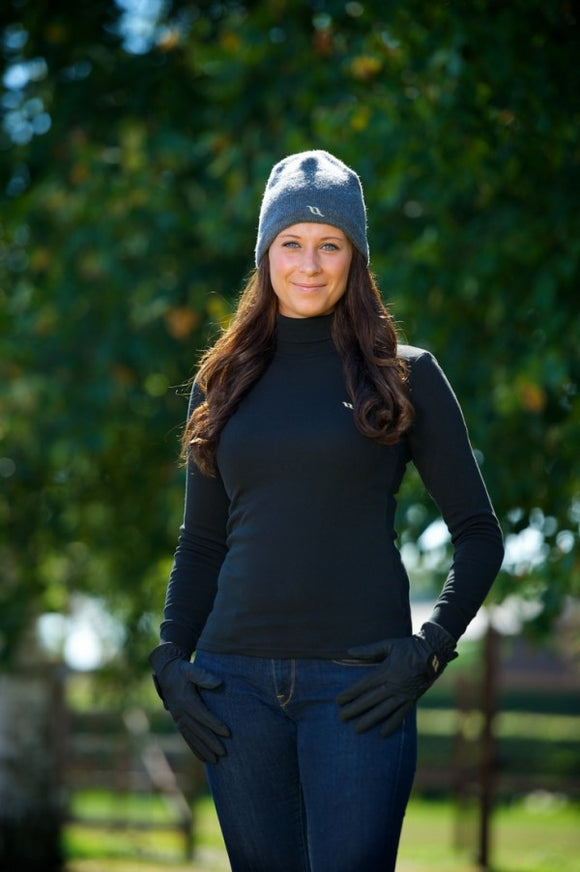 Back On Track Women's Polo Neck Sweater