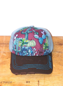 """Cacti"" Cap by Catchfly"