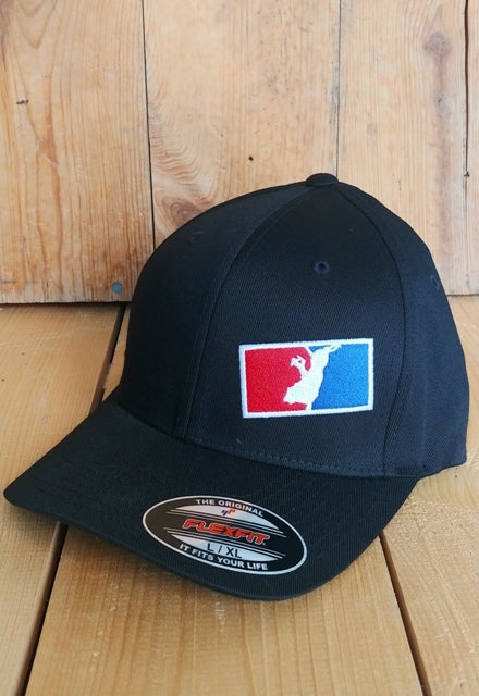 3D Bull Riding Flex Fit Cap