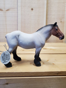 Roan Dutch Draft Mare Figurine by CollectA