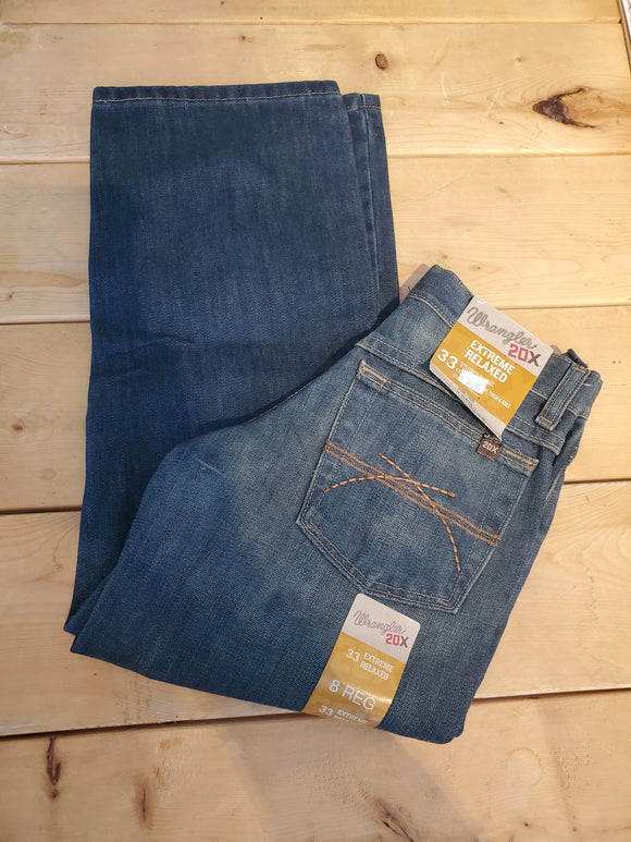 20X Extreme Relaxed Fit Boy's Jean by Wrangler