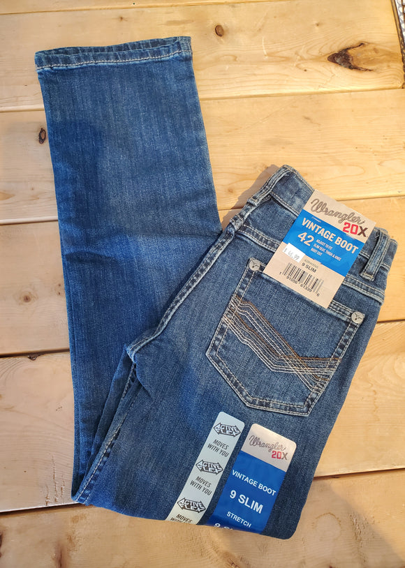 20X Vintage Boot Cut Boy's Jean by Wrangler