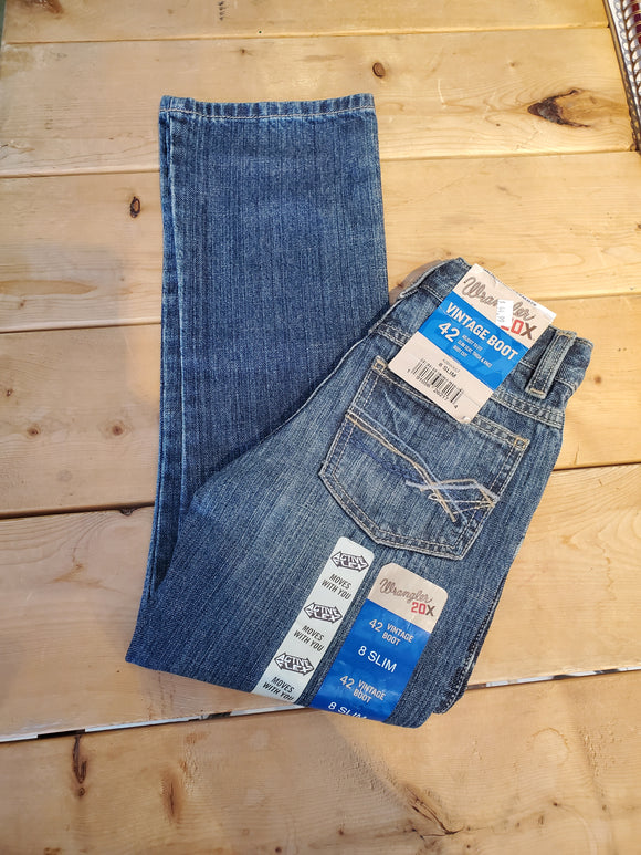 20 Vintage Boot Boy's Jean by Wrangler