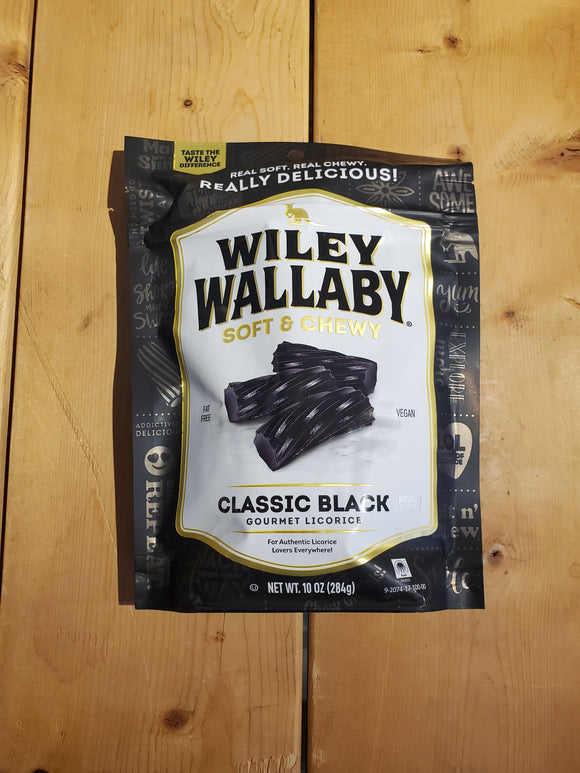 Wiley Wallaby Classic Black Licorice