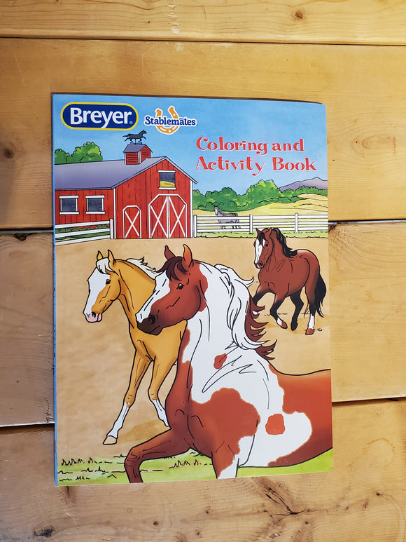 Breyer® Stablemates® Coloring & Activity Book