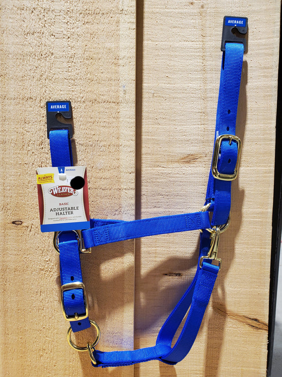 Basic Adjustable Average Halter by Weaver