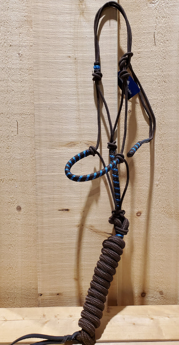 Two-Tone Rope Halter With Lead by Classic Equine®