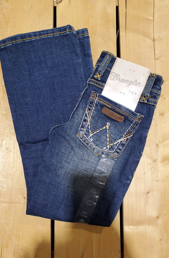 Heavy Stitch 'Like Mom' Girl's Jean by Wrangler