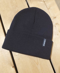 'Branded' Black Hooey Toque