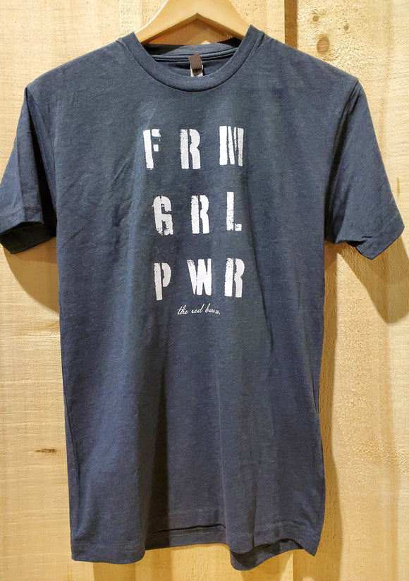'FRM GRL PWR' Women's Top by The Red Barn Co.®