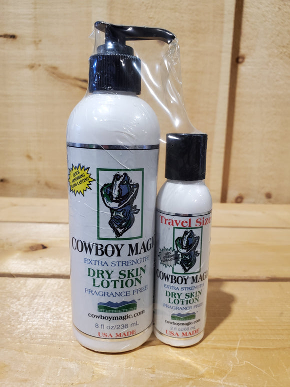 Dry Skin Lotion Set by Cowboy Magic®