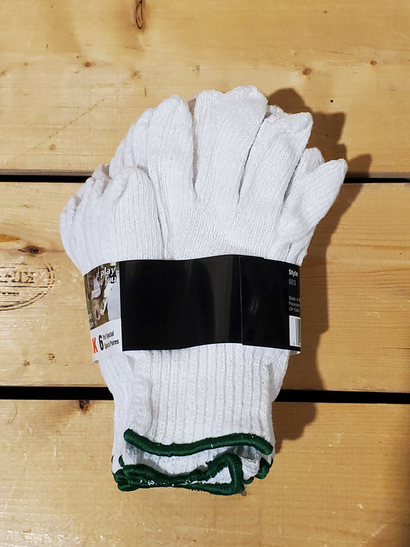 6 Pack 'White Knight' Gloves by Watson Gloves®