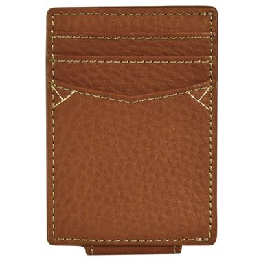 Caramel Top Grain Leather Card Wallet by Georgia Boot®