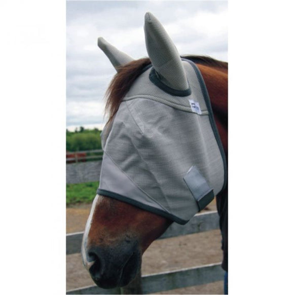 Natural Fit Breakaway Fly Mask With Ears by Canadian Horsewear Co.®