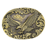 Attitude Soaring Eagle Buckle by Montana Silversmiths