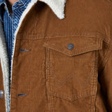 Sherpa Lined Corduroy Men's Jacket by Wrangler