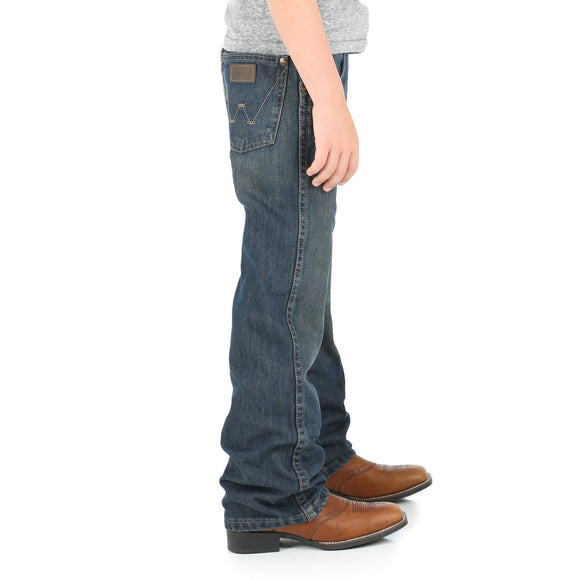 Retro Relaxed Fit Boy's Jean by Wrangler