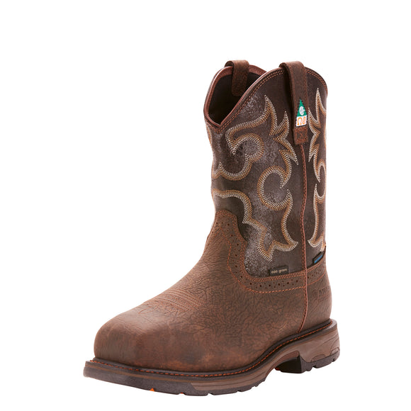 Workhog Wide Square Toe H2O Insulated CSA Men's Boot by Ariat