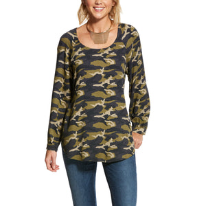 Camo Tunic Style Women's Top by Ariat