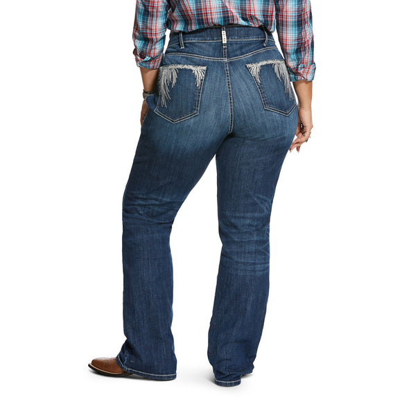 REAL Mid Rise Plus Size Women's Jean by Ariat