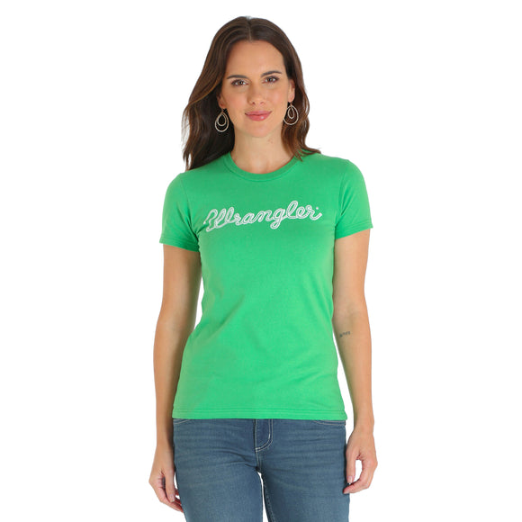 Retro Rope Logo Women's Top by Wrangler