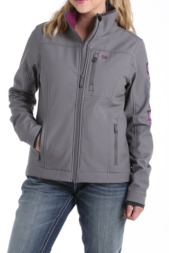 Polyshell Logo Women's Jacket by Cinch