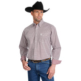 George Strait Troubador Men's Shirt by Wrangler
